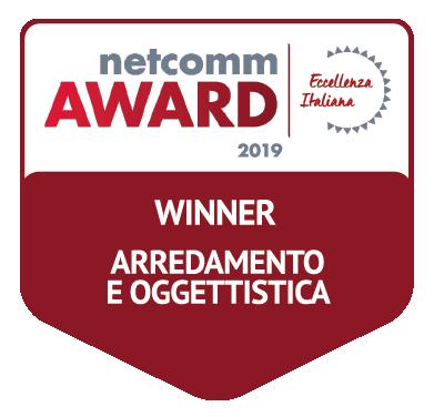 vincitore categoria arredamento design oggettistica netcomm award 2019