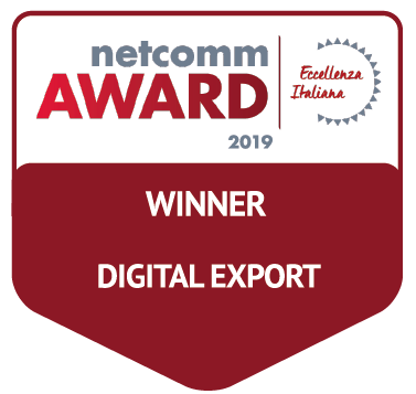 vincitore categoria digital export netcomm award 2019
