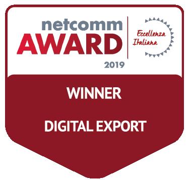 vincitore categoria digital export netcomm award 2019