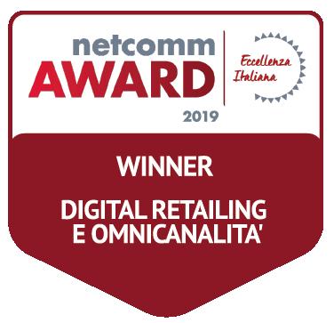 vincitore categoria digital retailing e omnicanalità netcomm award 2019