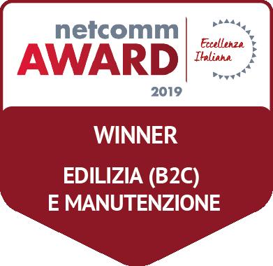 vincitore categoria edilizia manutenzione netcomm award 2019