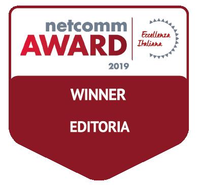 vincitore categoria editoria netcomm award 2019