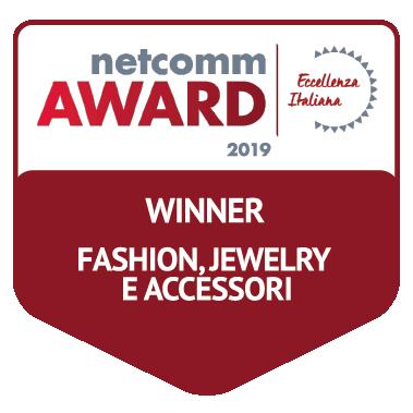 vincitore categoria fashion jewelry accessori netcomm award 2019