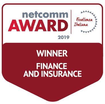 vincitore categoria finance insurance netcomm award 2019