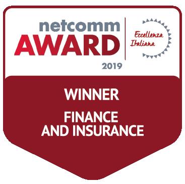 vincitore categoria finance insurance netcomm award 2019