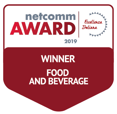 vincitore categoria food beverage netcomm award 2019