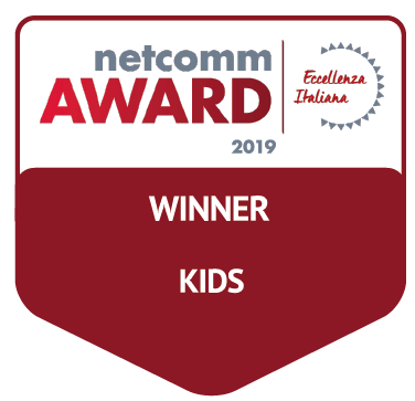 vincitore categoria kids netcomm award 2019