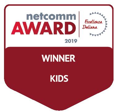 vincitore categoria kids netcomm award 2019