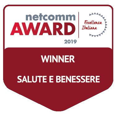 vincitore categoria salute e benessere netcomm award 2019