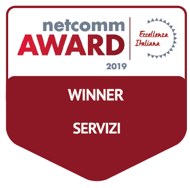 vincitore categoria servizi netcomm award 2019