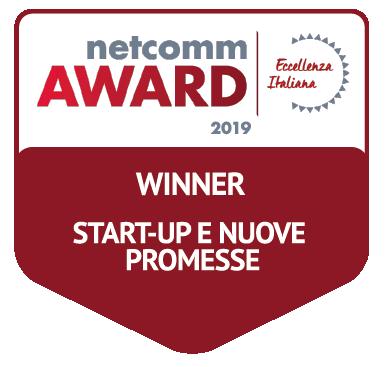 vincitore categoria start-up nuove promesse netcomm award 2019