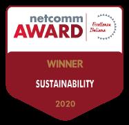 netcomm award 2020 winner sustainability