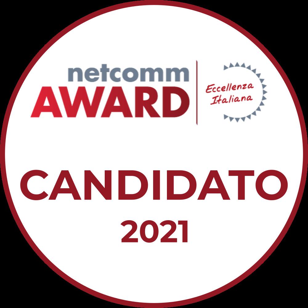 netcomm award 2021 logo candidato