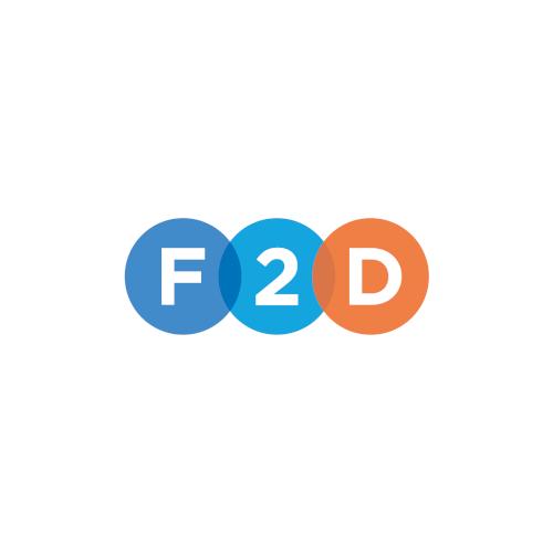 logo F2D progetto netcomm award