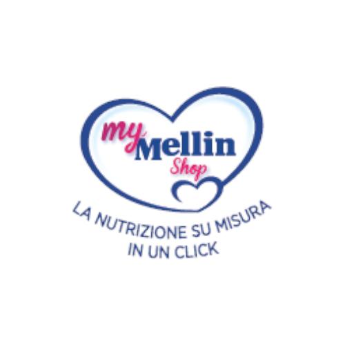 logo my mellin shop progetto netcomm award