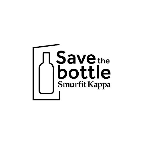 logo save the bottle smurfit kappa progetto netcomm award